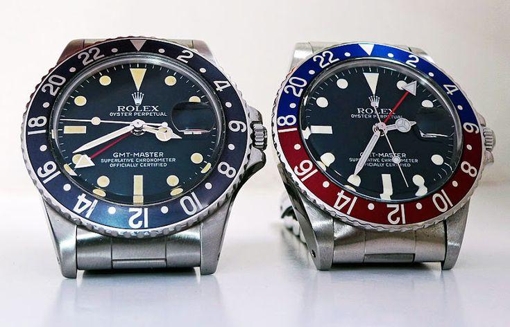 Vintage Rolex GMT 1675's