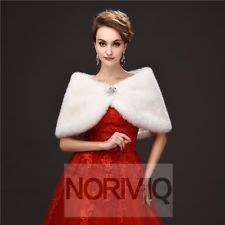 Elegant Winter Wedding Capes White Bridal Womens Jackets And Coats For Brides