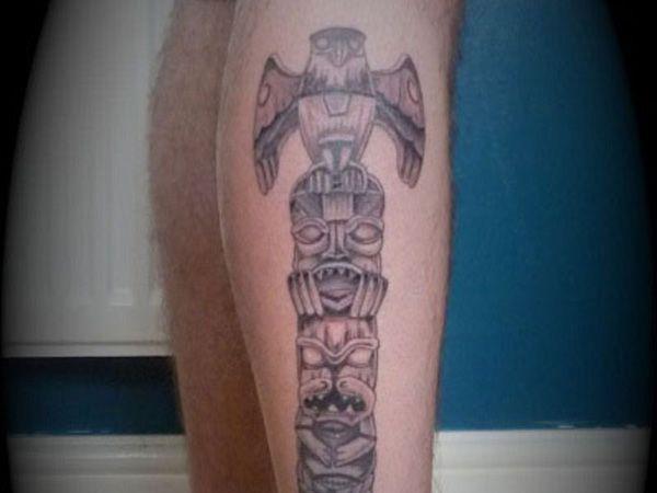 cool totem pole 25 Awesome Totem Pole Tattoo Ideas