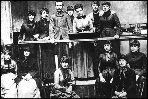 Ripper Street | Annie Besant discovered that the women worked fourteen hours a day for a wage of less than five shillings a week. However, they did not always received their full wage because of a system of fines, ranging from three pence to one shilling. Offences included talking, dropping matches or going to the toilet without permission. The women worked from 6.30 am in summer (8.00 in winter) to 6.00 pm. If workers were late, they were fined a half-day's pay.