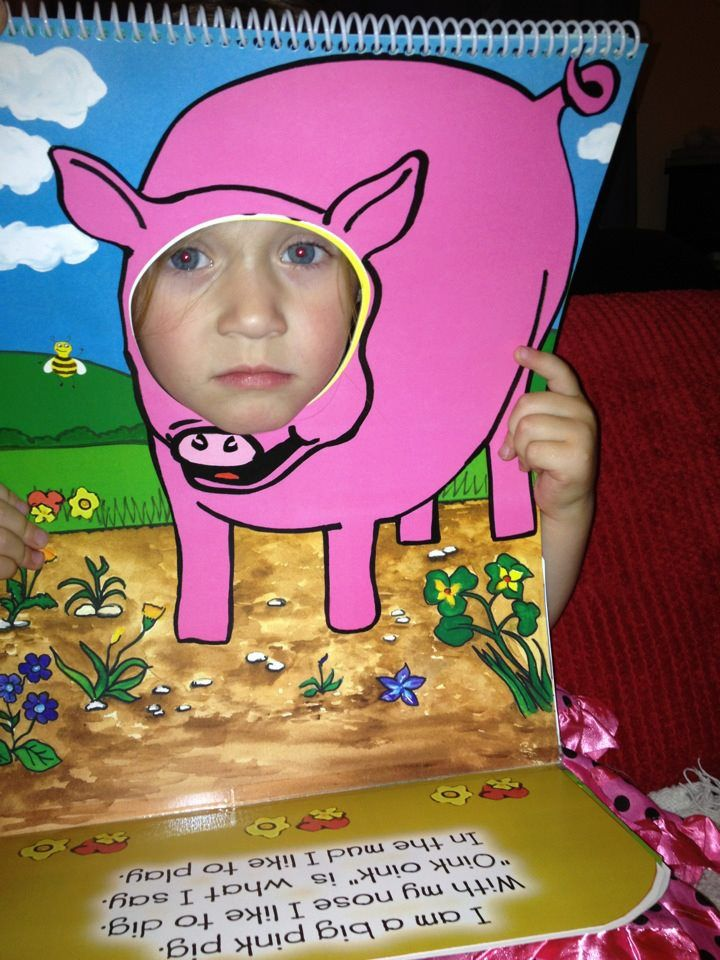Bee The Book : Pig Character