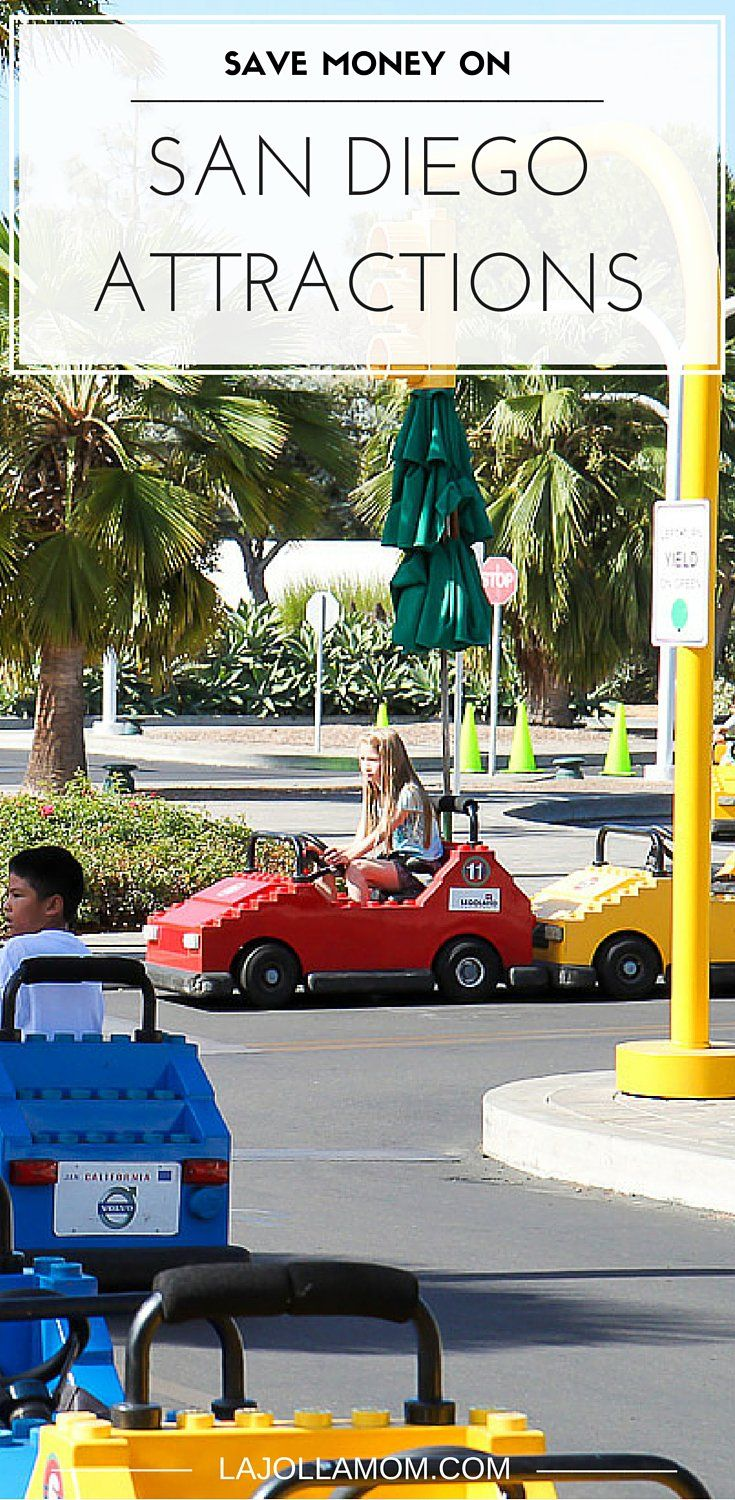 Find out five ways to save money on San Diego attractions like SeaWorld, LEGOLAND, the museums of Balboa Park and more.