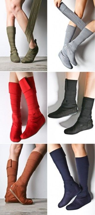 Toms Wrap Boots want them in every color!!!!!! http://tomsshoesclearance.net/10-toms-women-wrap-boots-shoes <------can I tell you that you could basically just use Ace bandages for shoes. This is ridiculous. I love Toms and appreciate them but this is just extremely pointless!