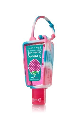 Bath and Body Works Pocketbac Holder Blue Pink « Holiday Adds