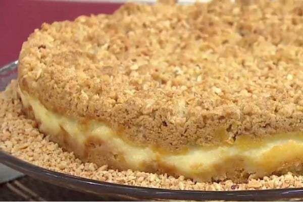 Receita de Cuca Cremosa de Amendoim , Delicioso e fácil de fazer! Aprenda a Receita! Saiba Mais: