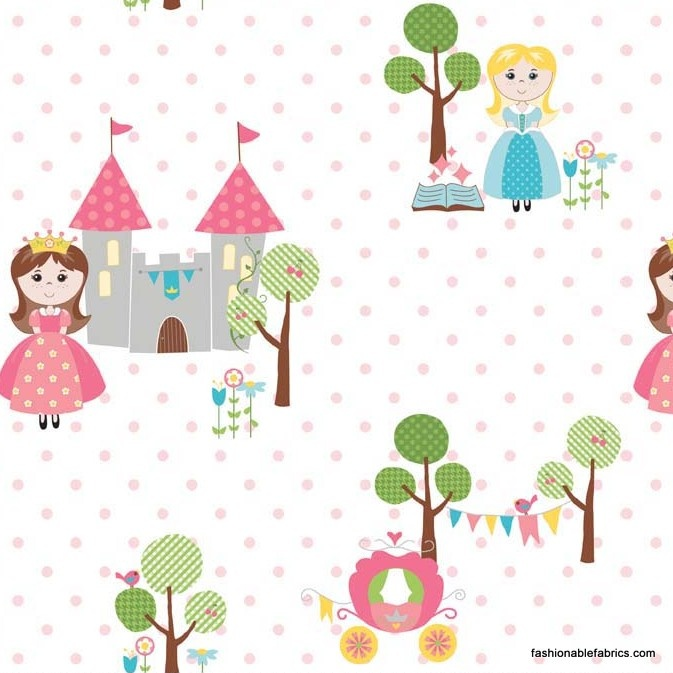 Pin By Storytelling On Happy Fabric: Fabric... Happy Ever After Princess In Pink By Riley Blake