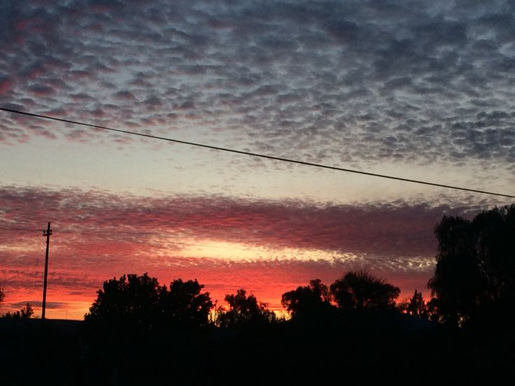 Vibrance.... 20151002 sunset from my Porch