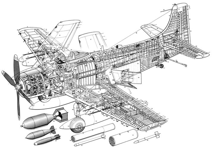 448 best Aerospace cutaways and diagrams images on