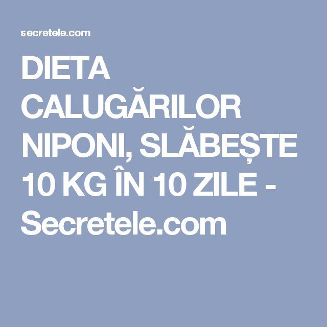 DIETA CALUGĂRILOR NIPONI, SLĂBEȘTE 10 KG ÎN 10 ZILE - Secretele.com