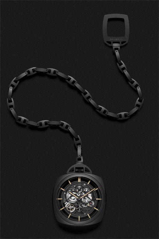 Panerai Pocket Watch Tourbillon : montre de grandes poches les plus belle indeed