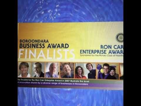 Previous Project: The Ron Carr Award #hawthornrotarybusinessaward #award