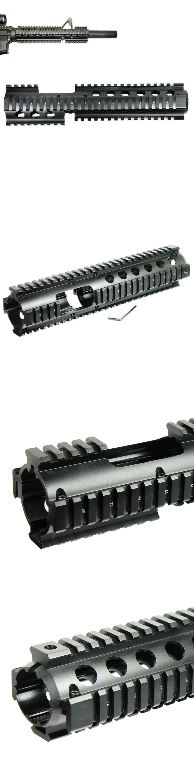 Scope Mounts and Accessories 52510: Carbine Length .223/5.56 Quad Rail 3-Piece Drop In With Front Sight Extension -> BUY IT NOW ONLY: $32.95 on eBay!