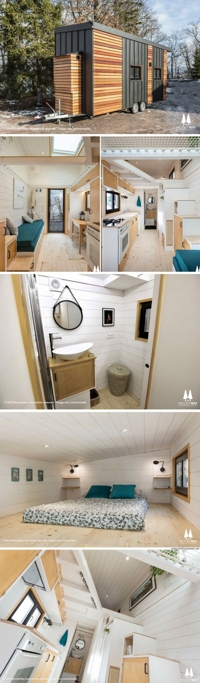 Athena: a 220-sq-ft tiny house by Swiss builder, Woody Way