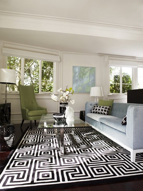 Love The Rug Greek Key Design Home Interior Ideas Pinterest Decorating Color Schemes And Window