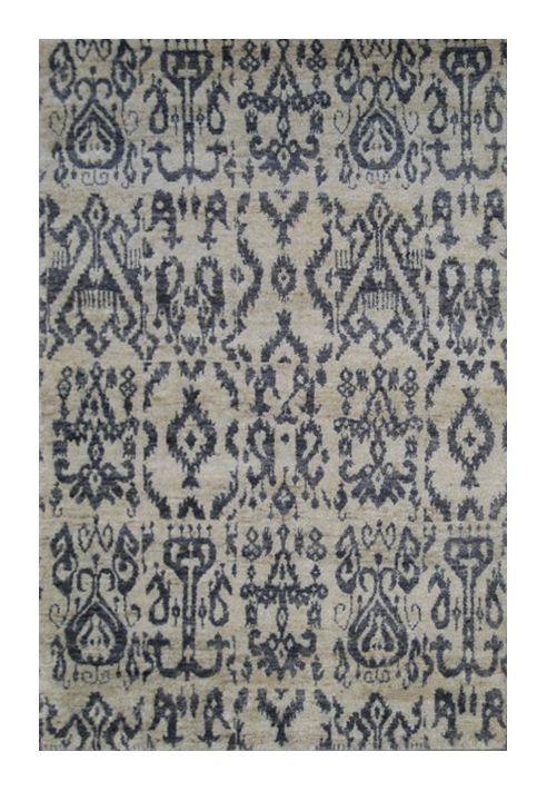 Jute - blue #1419 4.95 x 3.46m Jute Hand-knotted Was R66 500  -40 %  Now R39 900
