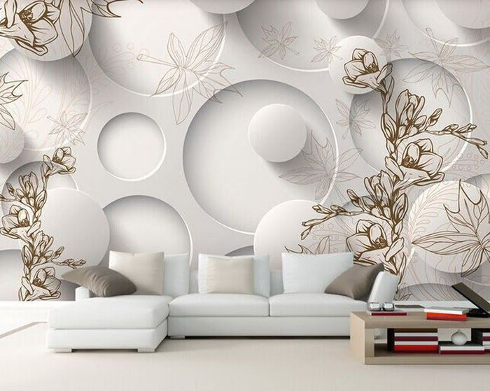3d Wallpaper For Living Room 15 Amazingly Realistic Ideas In 2020 Contemporary Modern Living Room Furniture Contemporary Living Room Furniture Room Wallpaper Designs