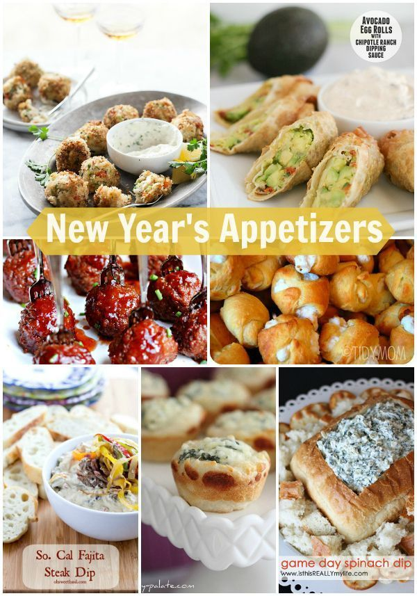 New Year's Appetizer Recipes