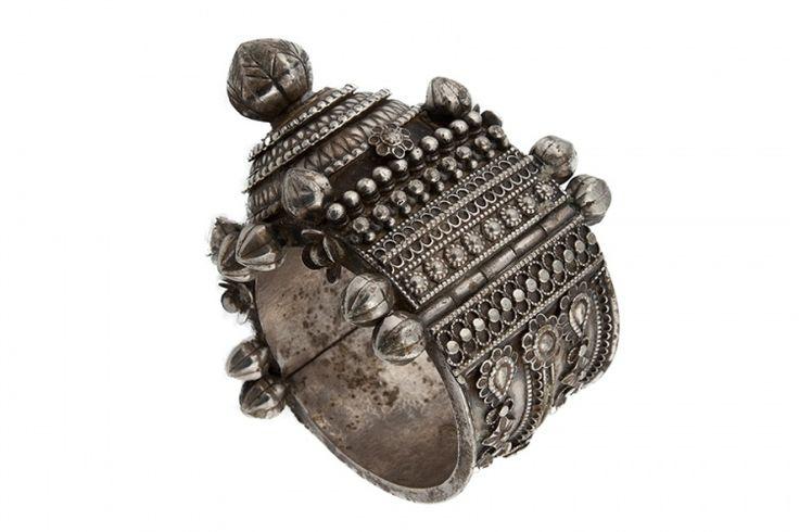 The Hobo Society / Orissan Silver bracelet - Early 20th century (India)