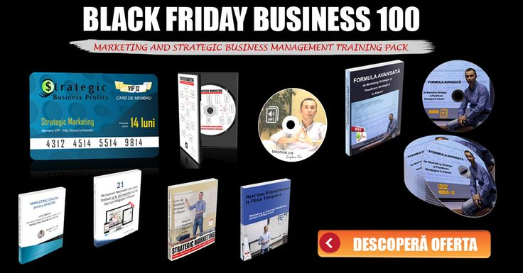 MARKETING, INTERNET MARKETING AND STRATEGIC BUSINESS MANAGEMENT TRAINING PACK - ACCES INSTANT ONLINE - DOAR 19 Lei *