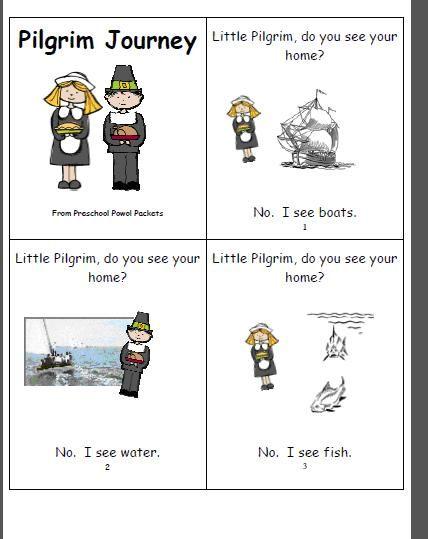 little pilgrims preschool preschool powol packets free mini book pilgrim journey 682