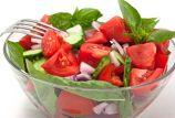 Inspired Italian: Tomato, Onion and Basil Salad