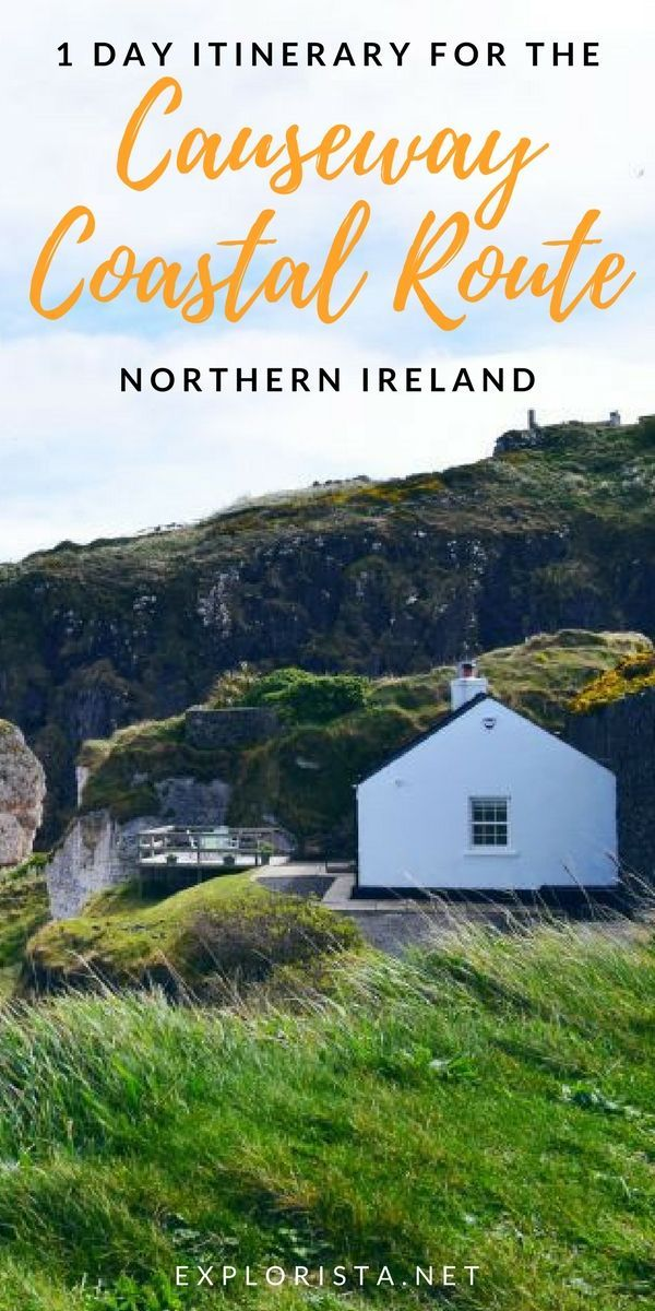 Planning a trip to Northern Ireland? You MUST add the Causeway Coastal Route in your travel itinerary. It's a stunning drive from Belfast and you might even notice a certain Game of Thrones location! #northernireland #causewaycoastalroute #northernirelandtravel