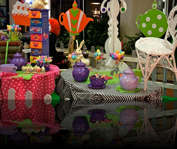 Mad Hatter Tea Party - Wonderland themed event