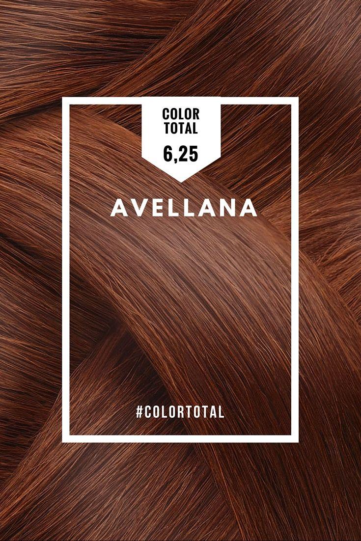 ¡El Tono 6,25 del tinte de pelo Color Total de Azalea es tu opción ideal si tienes la piel blanca anaranjada, dorada, rosada o morena marrón y sueles vestir con colores cálidos! Te sentará genial con unos ojos azules, marrones o verdes. El tono 6,25 es perfecto si buscas un cabello Avellana de lo más especial. Coloración permanente en crema enriquecida con efecto Antiedad gracias al aceite de Tsubaki y Argán. Cobertura total de canas.