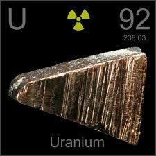 Uranio Elemento quimico - 92 U