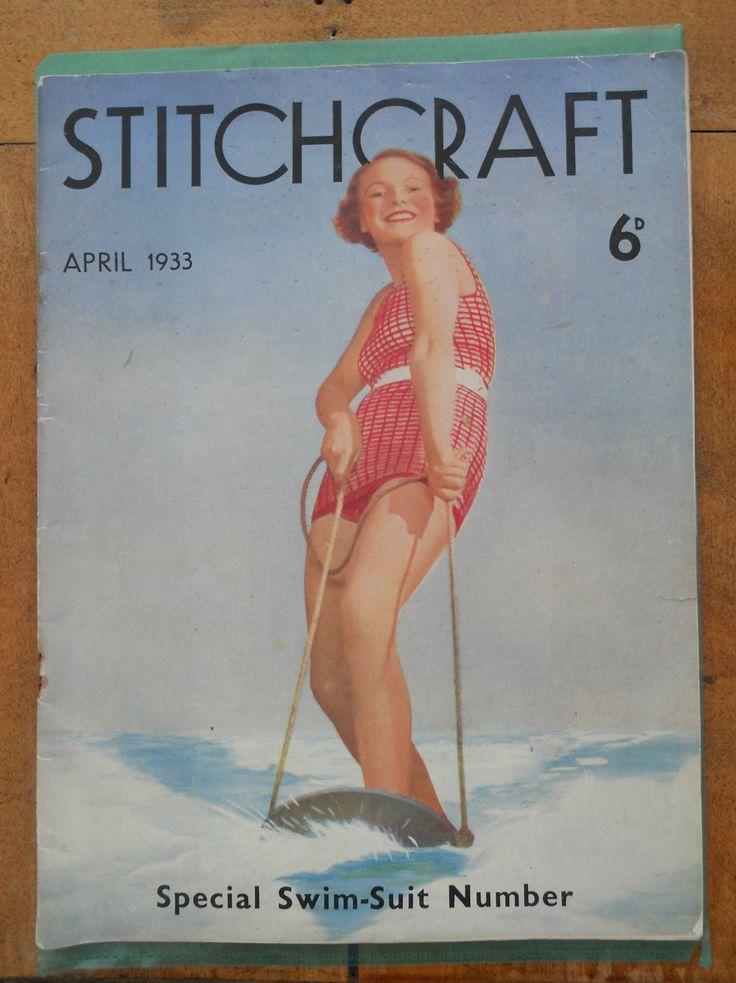 A 1933 STITCHCRAFT MAGAZINE ~ NOW ON MY EBAY SITE LUBBYDOT1