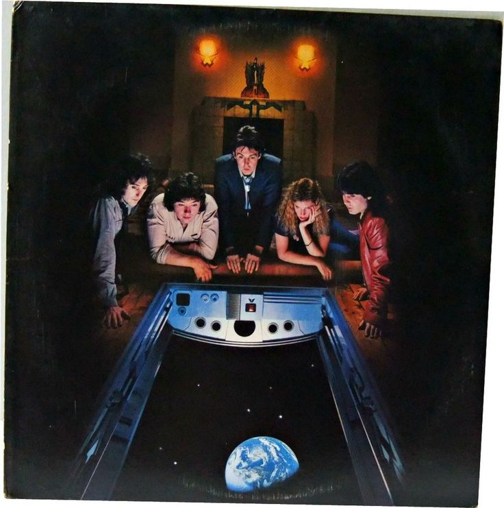 "WINGS ""Back To The Egg"" Paul and Linda McCartney 1979 Columbia Records FC 36057 #SoftRock"