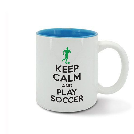 KEEP CALM and carry on play SOCCER game professional by davesdisco