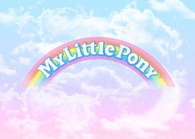 [ • My Little Pony - pastel - logo • ]
