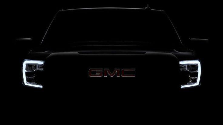 2019 GMC Sierra 1500 pickup teased on Twitter