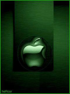 Animación little green apple hc para celular