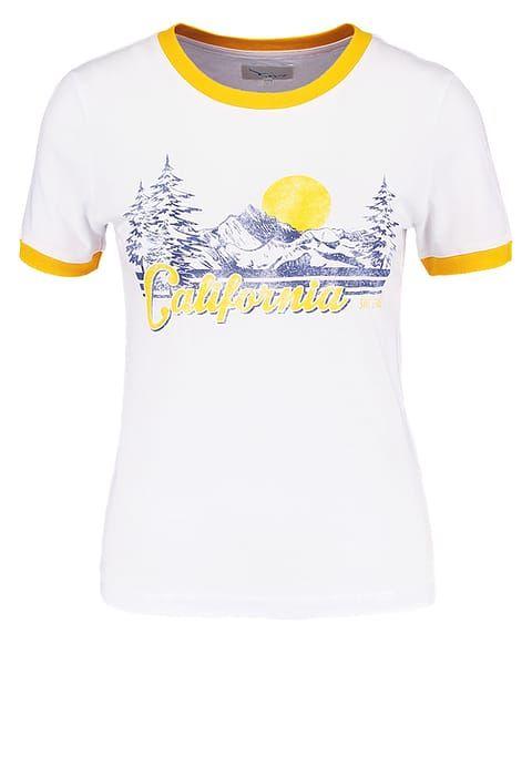 TWINTIP T-Shirt print - off-white/yellow für 11,95 € (07.08.17) versandkostenfrei bei Zalando bestellen.