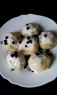 magiczna kuchnia Kasi: Knedle z jagodami