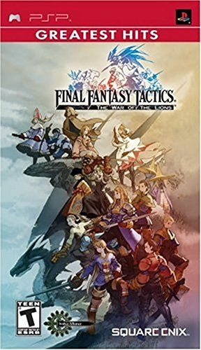 Final Fantasy Tactics: The War of the Lions - Sony PSP  Animated sequences combine hand-drawn style visuals with computer graphics  Enhanced widescreen presentation, new jobs and new characters  Challenge friends in head-to-head battles with the multiplayer function  team up in the co-operative mode and try to outwit the game's computer opponents