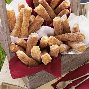 Top Tailgating Treats of the SEC  | Oven-Baked Churros | MyRecipes.com