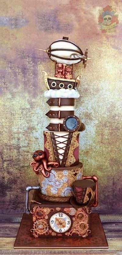 Cake Wrecks - Home - Sunday Sweets Glues Some Gears OnIt [adoring this! Love the octopus!]