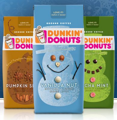dunkin donuts coffee flavors | 2010 HOLIDAY GIFT GUIDE - Dunkin Donuts Coffee - From Val's Kitchen ...