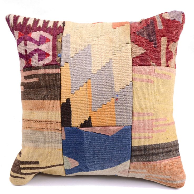 Kilim Pillow Cover 4413 - Weaved Arts