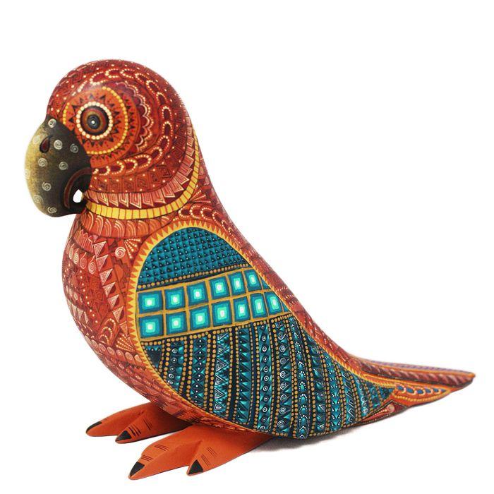 Alebrijes, Oaxacan Animals - MEXICO - David Hernandez Parrot