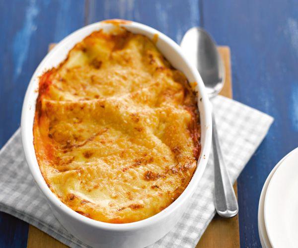 Recette avec astuce de Lignac : Gratin de lasagnes au poisson