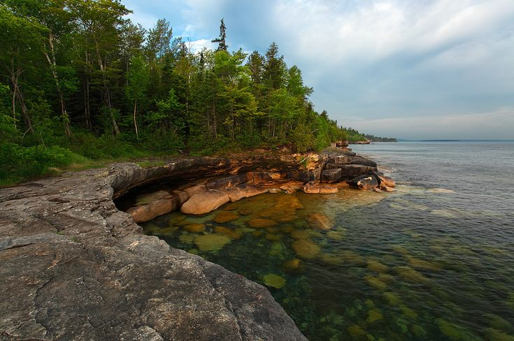 Five mile point Hiawatha National Forest (3 Great Lakes)