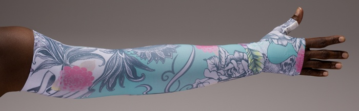 found lymphedivas - Tattoo Blossom Sleeve -lymphedema management
