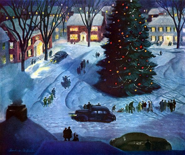 125 best {Christmas} Past images on Pinterest | 1950s christmas ...