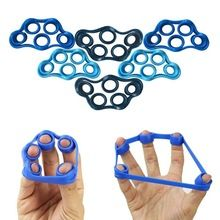 1Pc Silicone Retractable Anti-Spasticity Finger belt Hand Rehabilitation Exercise Tool Hand Functional Impairment Brace RP1-5 //Price: $US $1.46 & FREE Shipping //