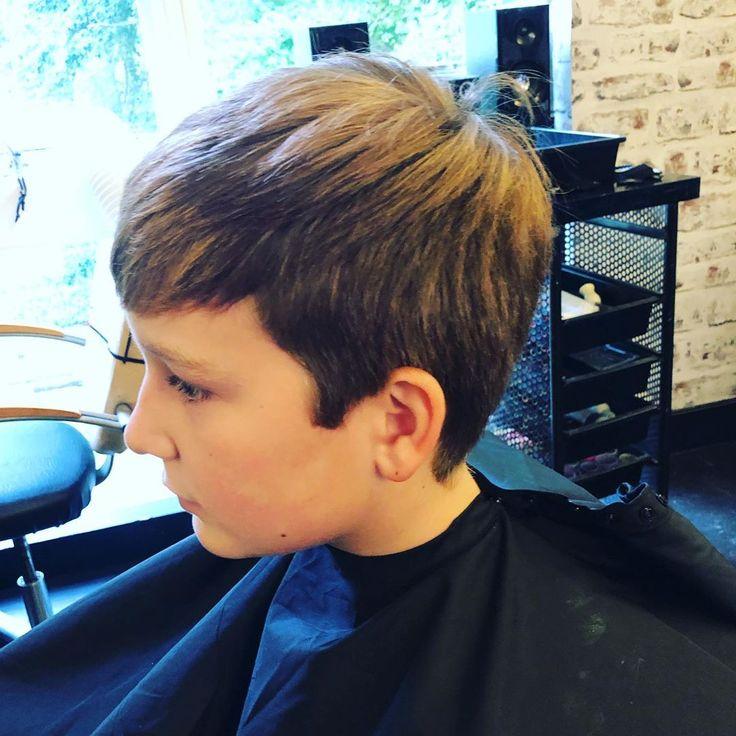 Vorher und Nachher auf einem unserer kleinen Herren #barbershop #hairstyles #kidshairst ..., #barbers ...