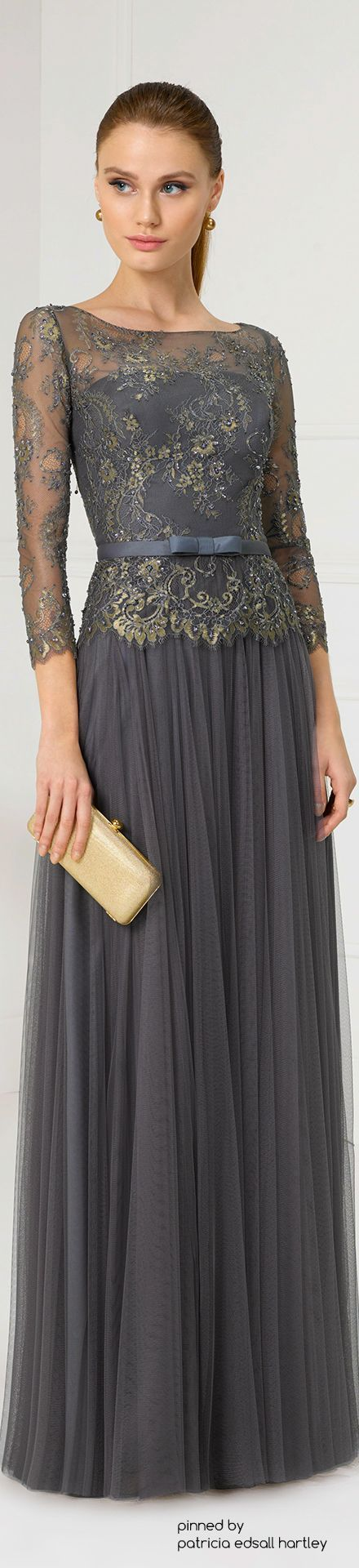 @roressclothes clothing ideas #women fashion gray maxi dress